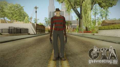 Mortal Kombat 9 - Freddy Krueger для GTA San Andreas второй скриншот