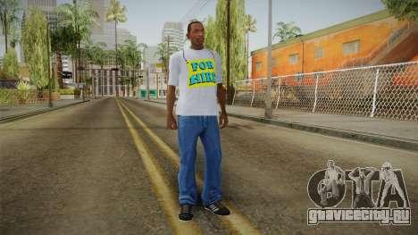 GTA 5 Special T-Shirt v9 для GTA San Andreas третий скриншот