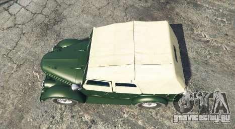 ГАЗ 69 [add-on] для GTA 5 вид сзади