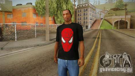 Spider-Man T-Shirt для GTA San Andreas