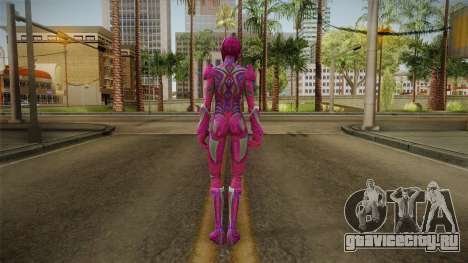 Pink Ranger Skin для GTA San Andreas третий скриншот