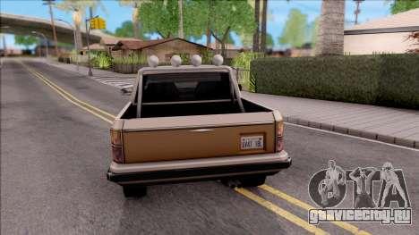 Rancher Hunter для GTA San Andreas вид сзади слева