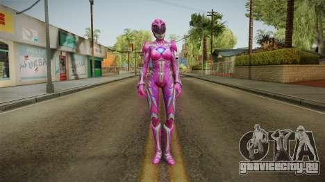 Pink Ranger Skin для GTA San Andreas второй скриншот