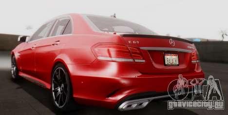 Mercedes-Benz E-class AMG IV для GTA San Andreas вид справа