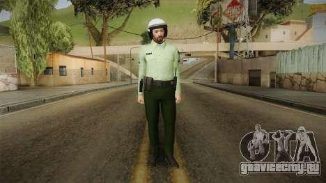 Iranian Cop Biker Skin для GTA San Andreas второй скриншот