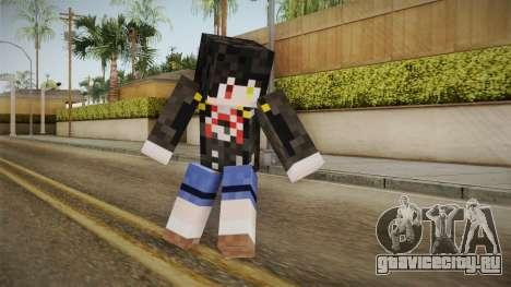 Minecraft Tokiasaki Kurumi Skin для GTA San Andreas