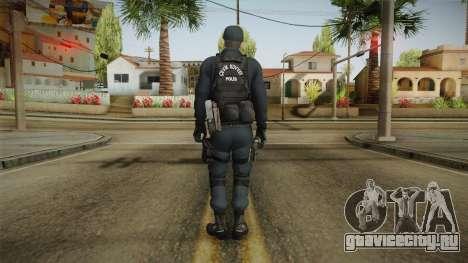 Turkish Riot Police Officer - Long Sleeves для GTA San Andreas третий скриншот