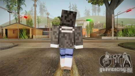 Minecraft Tokiasaki Kurumi Skin для GTA San Andreas третий скриншот