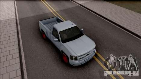 Chevrolet Silverado Single Cab для GTA San Andreas