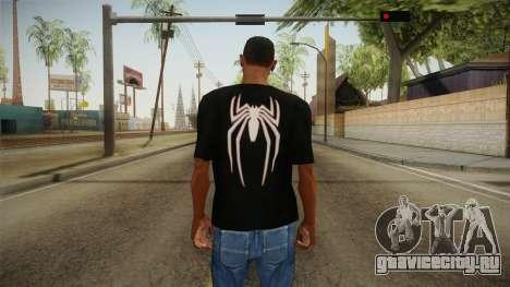 Spider-Man T-Shirt для GTA San Andreas второй скриншот