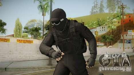 GTA Online: Black Army Skin v2 для GTA San Andreas