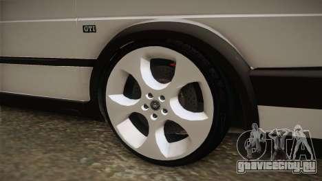 Volkswagen Golf MK2 2.0 TFSI Beta для GTA San Andreas вид сзади