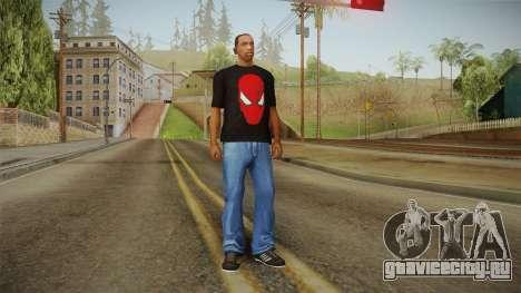 Spider-Man T-Shirt для GTA San Andreas третий скриншот