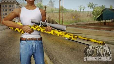 Leopard Sniper Rifle для GTA San Andreas