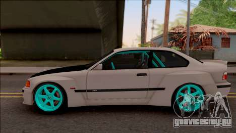 BMW M3 E36 Drift Rocket Bunny для GTA San Andreas вид слева