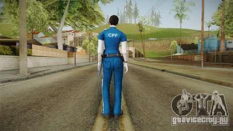 Mirror Edge Cop Patrol Female для GTA San Andreas третий скриншот