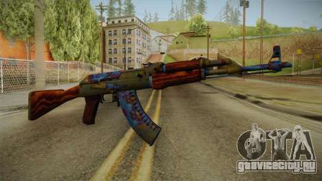 CS: GO AK-47 Case Hardened Skin для GTA San Andreas