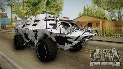 APC GTA 5 DLC GunRunning - Normal Turret для GTA San Andreas вид справа