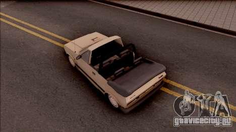 Yugo Koral 45 Kabrio для GTA San Andreas вид сзади