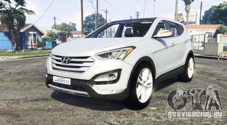 Hyundai Santa Fe (DM) 2013 [replace] для GTA 5