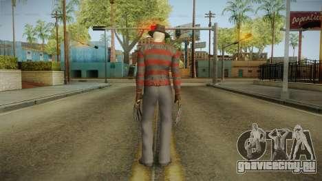 Mortal Kombat 9 - Freddy Krueger для GTA San Andreas третий скриншот