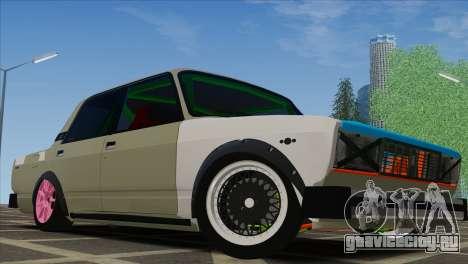 ВАЗ 2105 Customs Боевая Классика для GTA San Andreas вид сзади