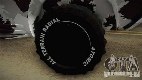 APC GTA 5 DLC GunRunning - Normal Turret для GTA San Andreas вид сзади