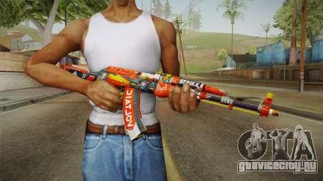 CS: GO AK-47 Bloodsport Skin для GTA San Andreas третий скриншот
