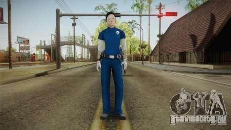 Mirror Edge Cop Patrol Female для GTA San Andreas второй скриншот