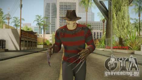 Mortal Kombat 9 - Freddy Krueger для GTA San Andreas