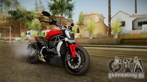 Ducati XDiavel S 2016 IVF для GTA San Andreas