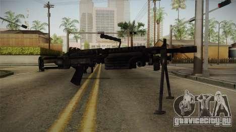 Mirror Edge FN Minimi для GTA San Andreas