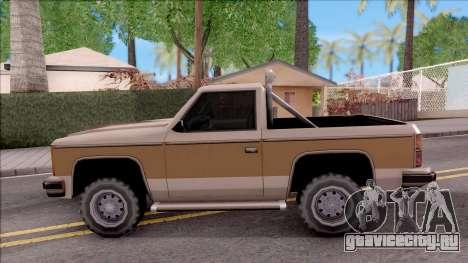 Rancher Hunter для GTA San Andreas вид слева