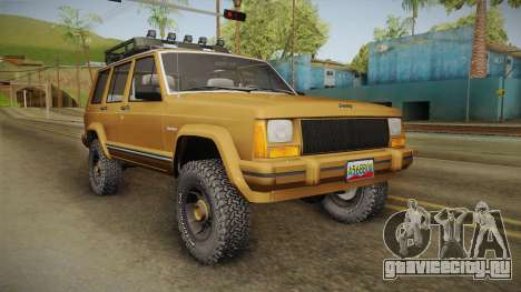 Jeep Cherokee 1984 для GTA San Andreas