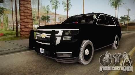 Chevrolet Tahoe 2015 Police для GTA San Andreas