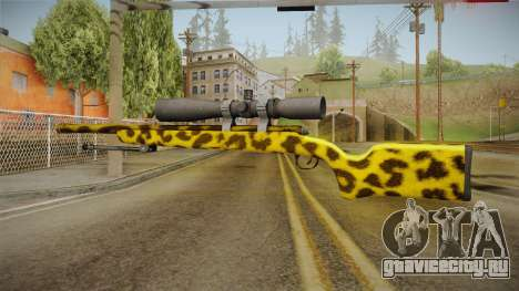 Leopard Sniper Rifle для GTA San Andreas третий скриншот