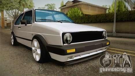 Volkswagen Golf MK2 2.0 TFSI Beta для GTA San Andreas