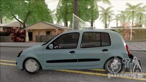 Renault Clio SFD для GTA San Andreas вид слева