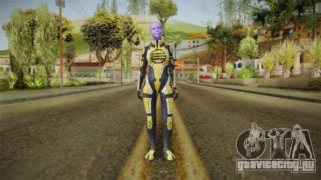 Mass Effect 2 Capitan Enyala для GTA San Andreas второй скриншот