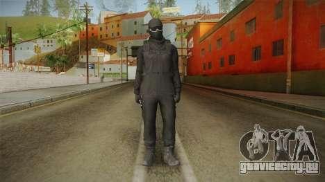 GTA Online: Black Army Skin v2 для GTA San Andreas второй скриншот