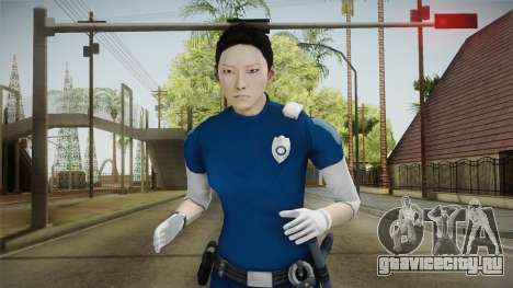 Mirror Edge Cop Patrol Female для GTA San Andreas