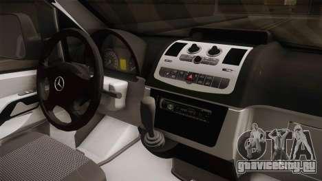 Mercedes-Benz Vito Algerian Police для GTA San Andreas вид изнутри