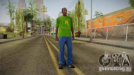 GTA 5 Special T-Shirt v12 для GTA San Andreas третий скриншот