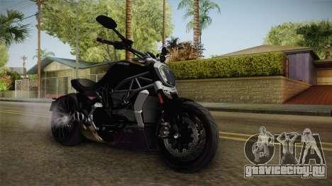 Ducati XDiavel S 2016 HQLM для GTA San Andreas вид справа