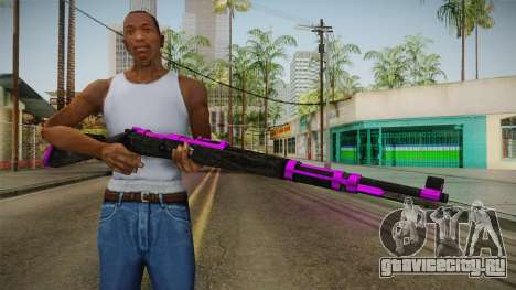 Purple Rifle для GTA San Andreas третий скриншот