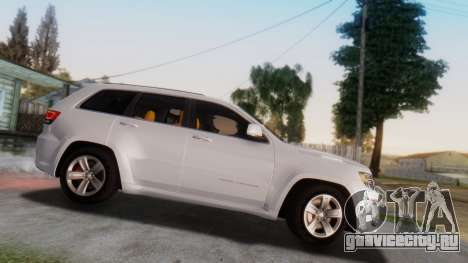 Jeep Grand Cherokee SRT 8 для GTA San Andreas вид слева