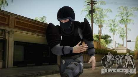Mirror Edge Cop Heavy v1 для GTA San Andreas