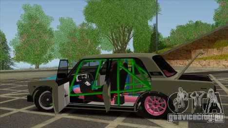 ВАЗ 2105 Customs Боевая Классика для GTA San Andreas вид сбоку