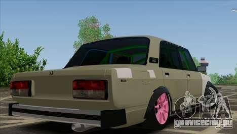 ВАЗ 2105 Customs Боевая Классика для GTA San Andreas вид слева