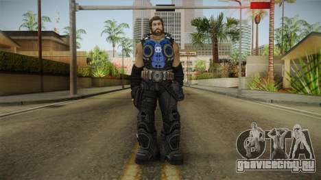 Clayton Carmine without Helmet для GTA San Andreas второй скриншот